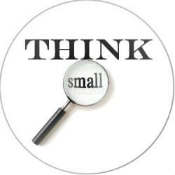 pensa in piccolo
