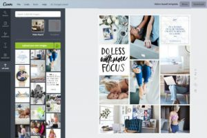 vision board digitale