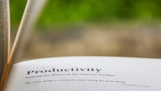 libri produttività